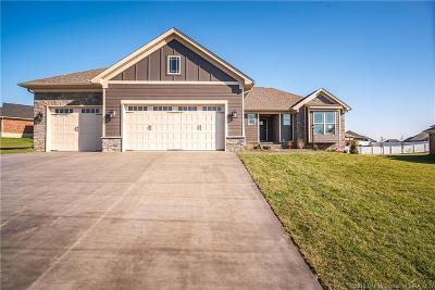 Jeffersonville Single Family Home For Sale: 2998 Crystal Lake Drive