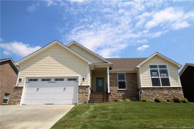Floyd County Single Family Home For Sale: 1208 - Lot 126 Knob Hill Boulevard