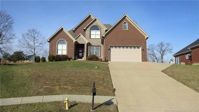 Sellersburg Single Family Home For Sale: 11404 Valley Forge Court