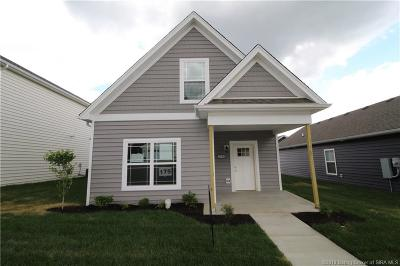 Jeffersonville Single Family Home For Sale: 3908 - Lot 175 Lotus Loop