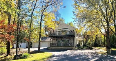 Harrison County Single Family Home For Sale: 5655 Crandall Lanesville Road NE