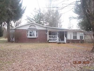 Scott County Single Family Home For Sale: 3095 N Coffee Pot Road