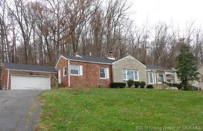 Floyd County Single Family Home For Sale: 1707 Valley View Road