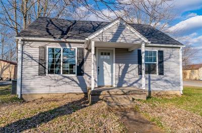 Scott County Single Family Home For Sale: 280 E Owen Street