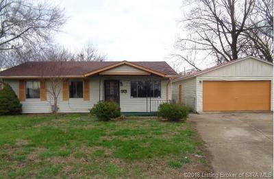 Jeffersonville Single Family Home For Sale: 820 Sandra Drive