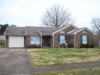 Jeffersonville Single Family Home For Sale: 1202 Harvest Court