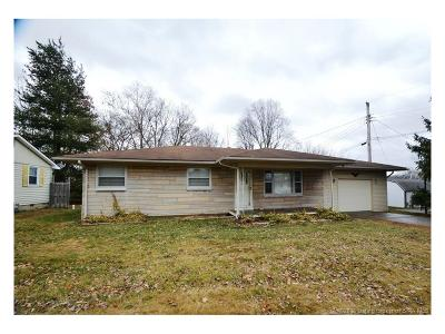 Scott County Single Family Home For Sale: 1017 S Riley Drive