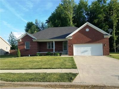 Memphis IN Single Family Home For Sale: $190,000