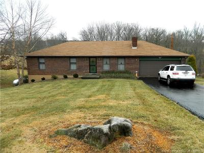 Floyd County Single Family Home For Sale: 3924 N Luther Road