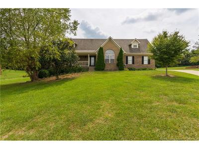 Floyd County Single Family Home For Sale: 8867 Highland Lake Drive