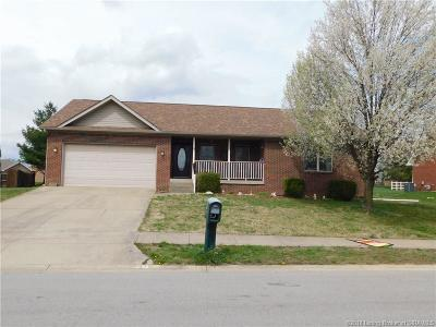 Jeffersonville Single Family Home For Sale: 4185 Silver Slate Drive