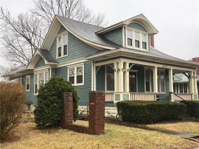 New Albany Single Family Home For Sale: 2314 E Spring Street