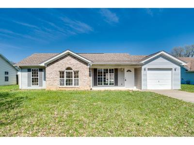 Jeffersonville Single Family Home For Sale: 1404 High Meadow Road