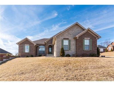 Floyd County Single Family Home For Sale: 1017 Charlet Ridge Drive