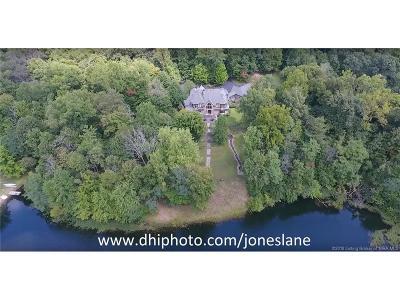 Floyds Knobs Single Family Home For Sale: 4322 & 43221/2 Jones Lane
