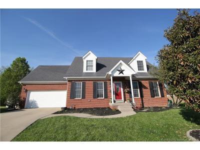 Jeffersonville Single Family Home For Sale: 5618 Silktree Trail