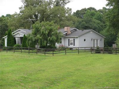 Harrison County Single Family Home For Sale: 175 Old State Road 64 NW