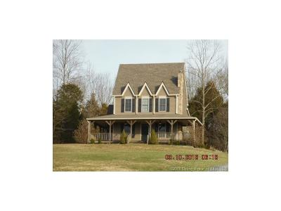 Harrison County Single Family Home For Sale: 3829 Crandall Station Road