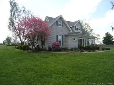 Scott County Single Family Home For Sale: 777 N Boatman Road