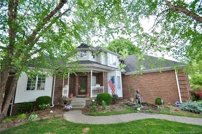 Sellersburg Single Family Home For Sale: 2303 Plum Woods Drive
