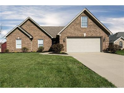 Jeffersonville Single Family Home For Sale: 5309 Chateau Court