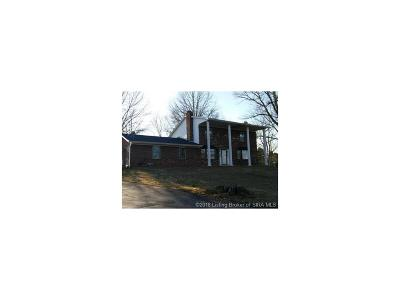 Crawford County Single Family Home For Sale: 4431 E St. Rd. 64