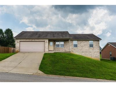 Jeffersonville Single Family Home For Sale: 2616 Brookhollow Way