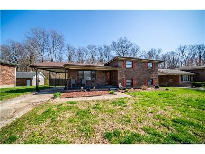 Jeffersonville Single Family Home For Sale: 1816 Flintlock Drive