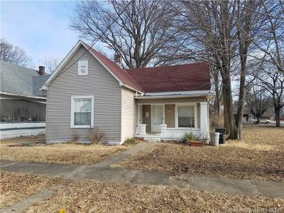 Jeffersonville IN Single Family Home For Sale: $52,900