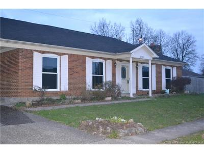 Jeffersonville Single Family Home For Sale: 3102 Brian Drive