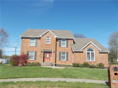 Jeffersonville Single Family Home For Sale: 3609 Sea Pine