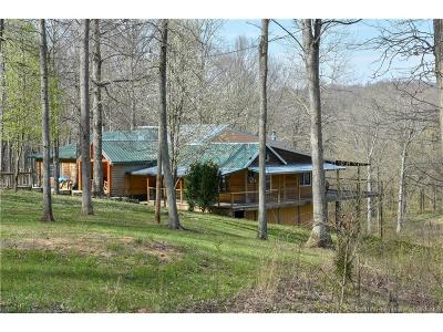 Single Family Home For Sale: 4974 Peggy Hollow Road