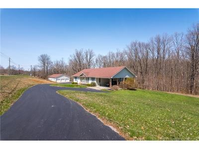 Washington County Single Family Home For Sale: 5324 S Blue River Church Road