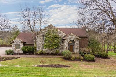 Jeffersonville Single Family Home For Sale: 5658 Split Rail Drive