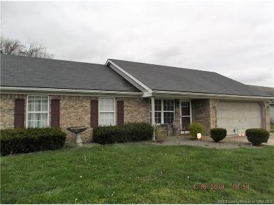 Jeffersonville Single Family Home For Sale: 3516 Seilo Ridge N
