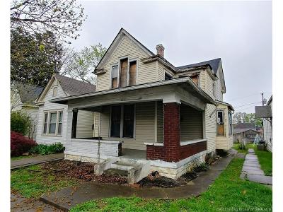 New Albany Single Family Home For Sale: 1810 E Spring Street