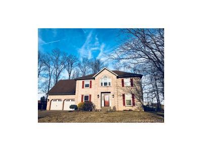 Jeffersonville Single Family Home For Sale: 3212 Eastbrook Boulevard