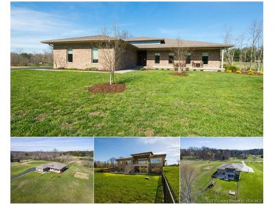 Clark County Single Family Home For Sale: 13920 Columbus Mann Road
