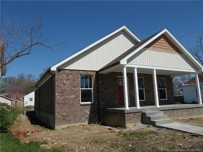 New Albany Single Family Home For Sale: 2225 E Spring Street