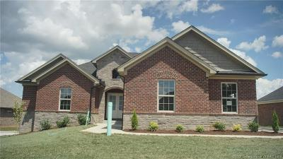 Jeffersonville Single Family Home For Sale: 2992 Crystal Lake Drive