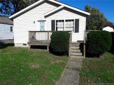 Jeffersonville Single Family Home For Sale: 914 Pratt Street