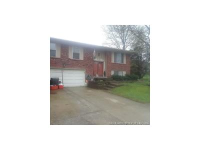 Jeffersonville Single Family Home For Sale: 1406 Oak Court