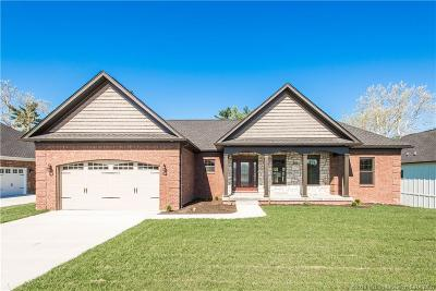 Floyds Knobs Single Family Home For Sale: 3012 Andres Court - Lot 26