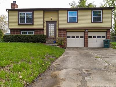 Clarksville Single Family Home For Sale: 744 Fernwood Court