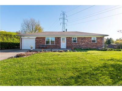 Floyds Knobs Single Family Home For Sale: 6202 Eric Drive