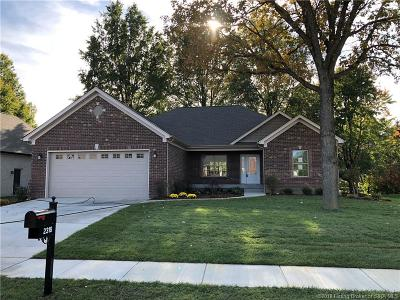 Jeffersonville IN Single Family Home For Sale: $369,900
