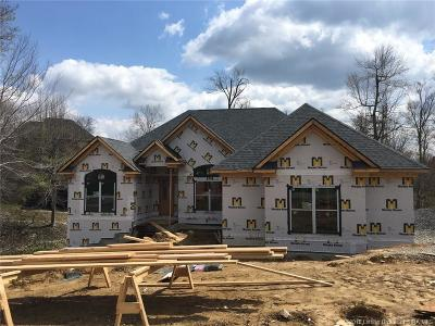 Floyds Knobs Single Family Home For Sale: 3573 (Lot 152) Lafayette Parkway