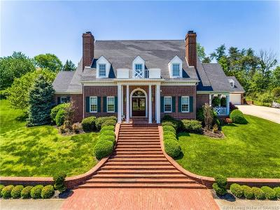 New Albany Single Family Home For Sale: 1000 Kelleys Ridge