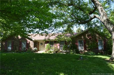 Floyd County Single Family Home For Sale: 7829 Tom Evans Road