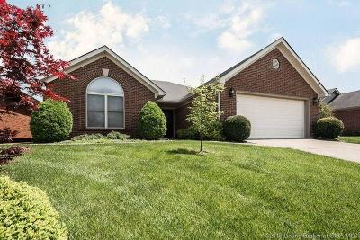 Jeffersonville Single Family Home For Sale: 3214 Greenleaves Drive